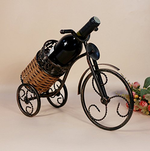 High-End bike wine rack European tricycle wine holder Home Furnishing decor and fashion (Hutch Wine Rack compare prices)