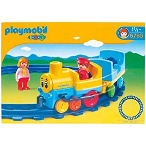 Amazon.com: Playmobil Push and Pull Train Set: Toys & Games