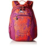 High Sierra Curve Backpack, Moroccan Tile/Berry Blast/Redline