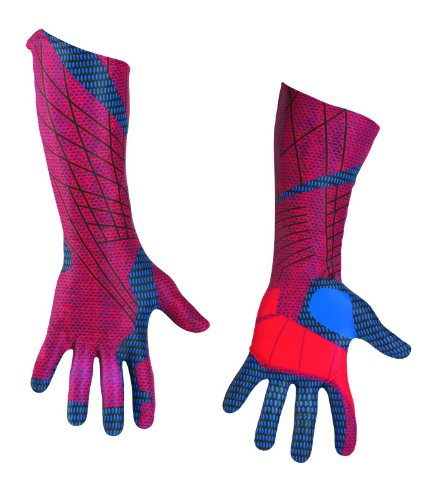 Disguise Marvel The Amazing Spider-Man 3D Movie Adult Deluxe Gloves