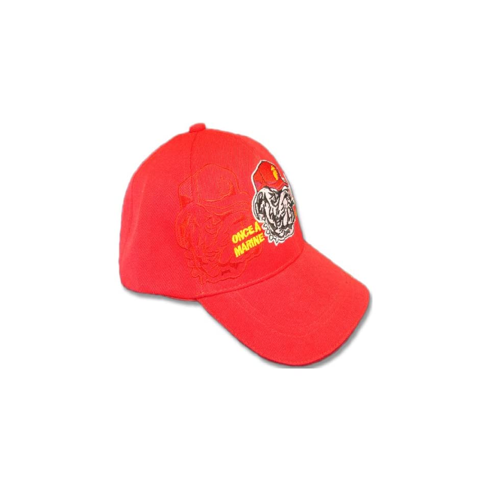 Once A Marine   New Style Ball Cap Military Collectible from Redeye Laserworks Hats