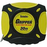 コメロン 鋼製巻尺 グリッパー テープ幅10mm 30M KMC-900R