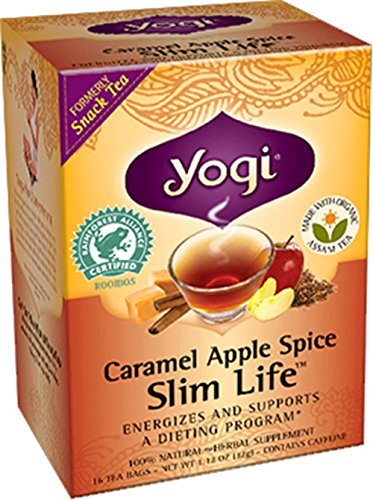 Caramel Apple Spice Slim Life 16 Bags (Formerly Snack Tea)