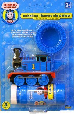 Imperial Toy - Bubbling Thomas Dip and Blow Bubble Blower - 1