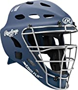 Rawlings MCH1 Adult Rubberized Matte Hockey Style Coolflo Catchers Helmet