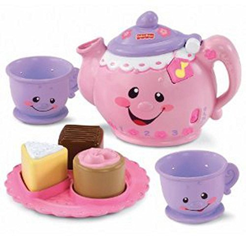 Fisher-Price Tea Set Kitchen Toy Baby Kid Child N7121 Educational New **