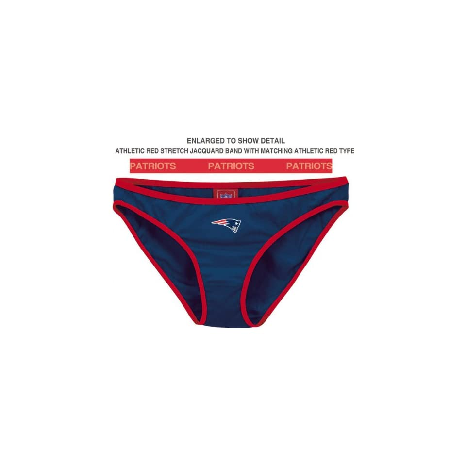 New England Patriots Team Panty 2 Pack   Medium  Sports Related Pennants  Clothing