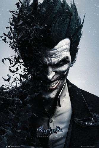 GB eye, Batman, Origins Joker Bats, Maxi Poster, 61x91.5cm