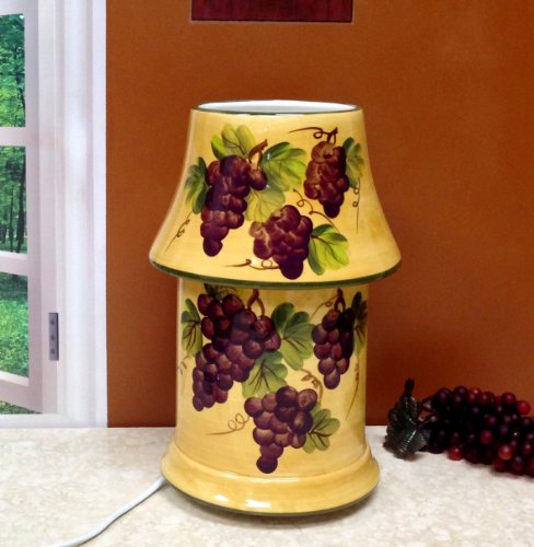 Tuscany Grape Wine Kitchen Decor