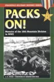 Packs On!: Memoirs of the 10th Mountain Division in WWII (Stackpole Military History Series)