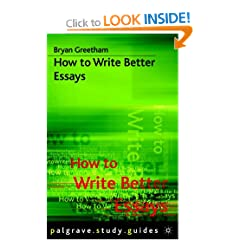 Image: Cover of How to Write Better Essays