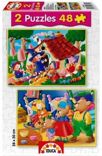 Educa-Classic-Tales-Puzzles-Hansel-Gretel-Goldilocks-the-Three-Bears
