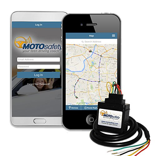 MOTOsafety Wired 3G GPS Tracking Device, Vehicle Tracker, GPS Car Tracker, with Safe Driving Reports, Vehicle Maintenance, and Geofences, GPS Trackers MWVAS1 (Car Location compare prices)