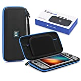 Carrying Case for Nintendo Switch, HOBBYTIGER Protective Travel Hard Switch Case with 8 Game Cartridges Slots Holder