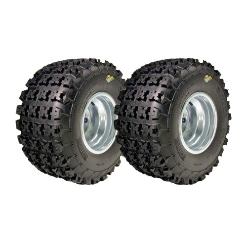 Two GBC Motor Sports X REX ATV Tires Rear Pair