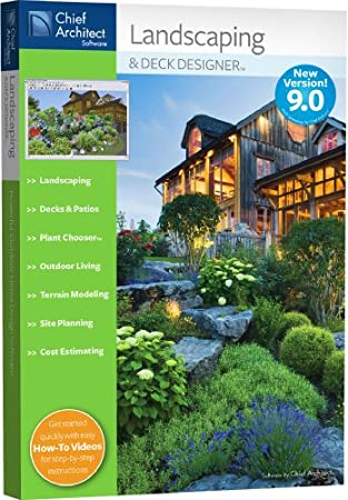Chief Architect Landscaping and Deck Designer 9.0 [OLD VERSION]