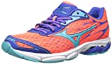 Mizuno Womens Wave Catalyst-W Running Shoe, Fiery Coral-Capri, 8.5 B US