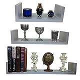 3-er-Set-Design-Wandregal-Bcher-CD-Regal-Cube-in-verschiedene-Farben-Dekowrfel-NEU-silber-grau