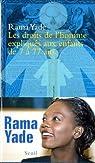Les droits de l'homme expliqués aux enfants de 7 à 77 ans par Yade-Zimet