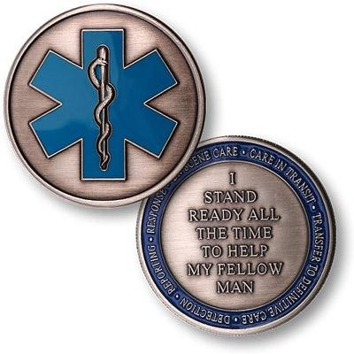 Fire and Rescue Medics Coin