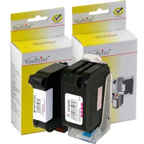 HP Druckerpatronen Refill C6615 & Tri-color C1823 Nr. 15+23 Youprint für HP PSC 500