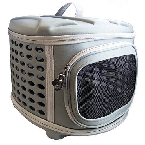 Pet-Magasin-Collapsable-Hard-Cover-Pet-Carrier-Dog-Cat-Travel-Kennel-with-Hard-Top-and-Hard-Floor