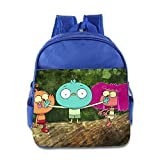 Toddler Kids Harvey Beaks School Backpack Cool Baby Boys Girls School Bags