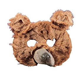Rubie's Costume Plush Animal Mask, Brown, One Size