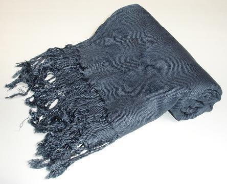 Pashmina Scarf Shawl Wrap Throw Grey