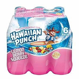 Hawaiian Punch, Lemon Berry Squeeze, 10 Ounce Bottles (Pack of 24)