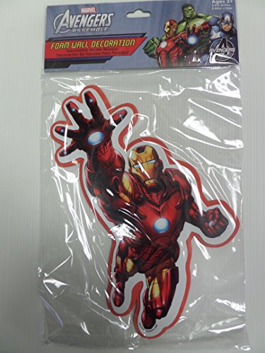 Marvel Ironman Foam Wall Decoration - 1