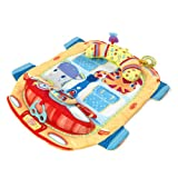 Bright Starts Tummy Cruiser Prop & Play Mat - Blue