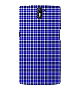 Fuson Premium Back Case Cover Buffalo checks pattern With Multi Background Degined For One Plus One::One Plus1