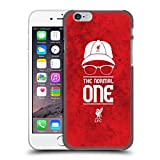Official Liverpool FC LFC Normal Red Grunge Klopp Icons Hard Back Case Cover for Apple iPhone 6 / 6s
