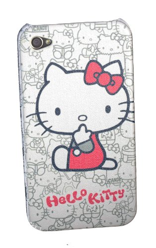 Hello Kitty iPhone 4 Hard Case White