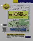 img - for English Fundamentals, Books a la Carte Edition (16th Edition) book / textbook / text book