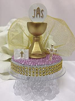 First Communion Cake Toppers A First Holy Communion Girl