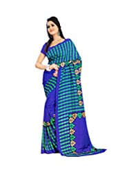 Miraan Printed Bhagalpuri Art Silk Saree
