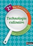 Technologie culinaire 2e