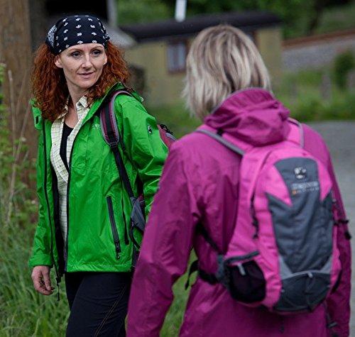 Deproc Active Damen Jacke Regenjacke, Grün, 48, 54015-525 -