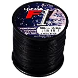 ULTIMA F1 Extreme Strength (4oz Bulk Spools) Long Casting Surf Monofilament Line for Sea Fishing - comes in 12lb, 15lb, 18lb, 20lb, 25lb & 30lb (Black, 18lb/8.2kg of 0.35mm)