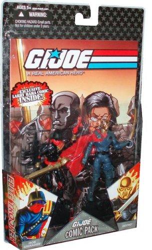 Hasbro 65261 – 25th Anniversay Actionfigurenset:  G.I. Joe Comic Pack mit Iron Grenadier und Destro bestellen