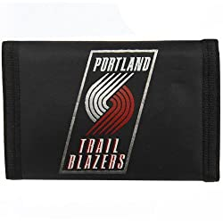NBA Portland Trailblazers Nylon Trifold Wallet