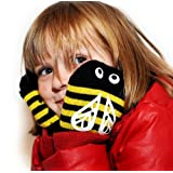 Snuguns bumble bee Mittens for children, easy on, stay on mittens for kidsby Snuguns