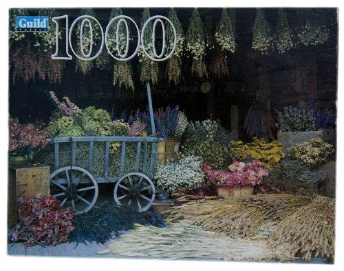 1000 Piece - Guild Dried Flower Market Puzzle