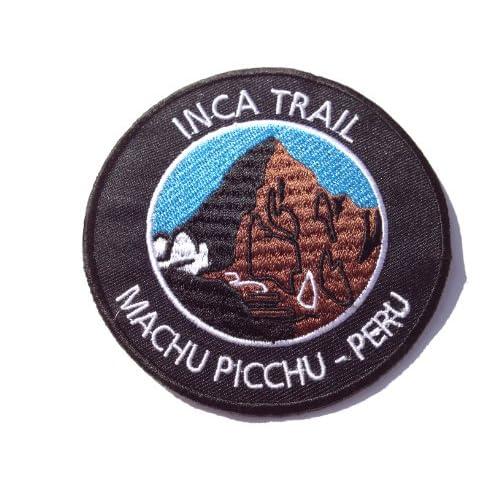 INCA TRAIL MACHU PICCHU PERU PATCH - IRON / SEW ON EMBROIDERED BADGE