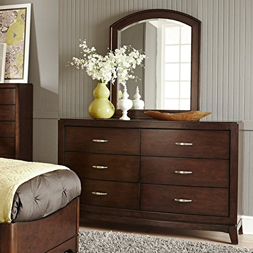 Avalon 6 Drawer Dresser - Dark Truffle
