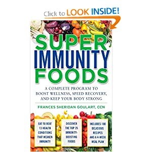 Buy Superimmunity Foods by Frances Sheridan Goulart at Amazon