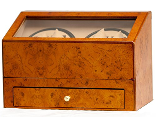 walnut-4-4-automatic-quad-watch-winder-display-storage-box-w-drawer