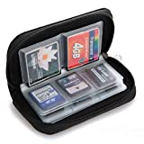 Kemilove Memory Card Storage Wallet Case Bag Holder SD Micro Mini 22 Slots Camera Phone (Color: Phone booth)